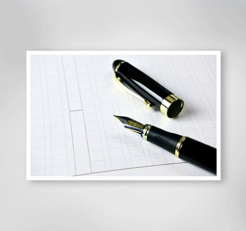 手書き紙原稿